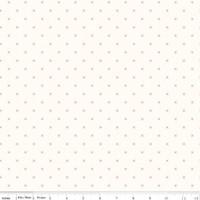 Riley Blake Fabric - Bee Cross Stitch - Lori Holt - Cloud Tea Rose #C747R-TEAROS