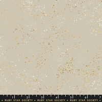 Moda Fabric - Ruby Star Society - Speckled Metallic Natural #RS5027 18M