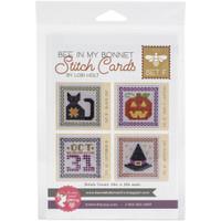 It's Sew Emma - Lori Holt of Bee in My Bonnet - Stitch Cards - Set of 4 (Set F)