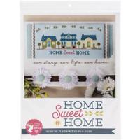 It's Sew Emma - Cross Stitch Pattern - Home Sweet Home