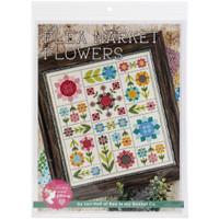 It's Sew Emma - Cross Stitch Pattern - Flea Market Flowers
