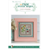 It's Sew Emma - Cross Stitch Pattern - Prim Series 10 - Love & Friendship