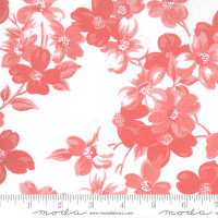 Moda Fabric - Sunday Stroll - Bonnie & Camille - White Pink #55220 23