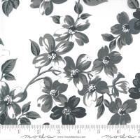 Moda Fabric - Sunday Stroll - Bonnie & Camille - White Grey #55220 27