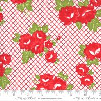 Moda Fabric - Sunday Stroll - Bonnie & Camille - Red #55221 12