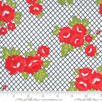 Moda Fabric - Sunday Stroll - Bonnie & Camille - White Green #55221 20