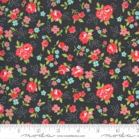 Moda Fabric - Sunday Stroll - Bonnie & Camille - Grey #55222 18