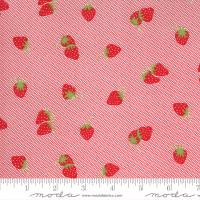 Moda Fabric - Sunday Stroll - Bonnie & Camille - Red #55223 12