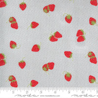 Moda Fabric - Sunday Stroll - Bonnie & Camille - Grey #55223 17