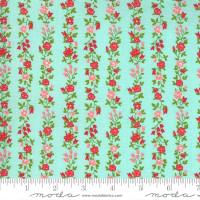 Moda Fabric - Sunday Stroll - Bonnie & Camille - Aqua #55224 14