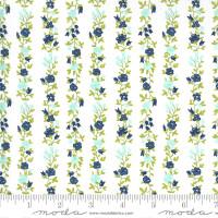 Moda Fabric - Sunday Stroll - Bonnie & Camille - White Navy #55224 21