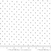 Moda Fabric - Sunday Stroll - Bonnie & Camille - White Navy #55226 11