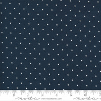 Moda Fabric - Sunday Stroll - Bonnie & Camille - Navy #55226 15