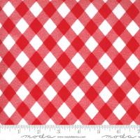 Moda Fabric - Sunday Stroll - Bonnie & Camille - White Red #55227 12