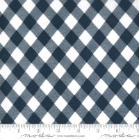 Moda Fabric - Sunday Stroll - Bonnie & Camille - Navy #55227 15
