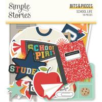 Carpe Diem - Simple Stories - School Life Bits & Pieces Die-Cuts