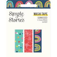 Carpe Diem - Simple Stories - Sunkissed Washi Tape - Set of 3