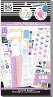 The Happy Planner - Me and My Big Ideas - Value Pack Stickers - Fitness Don't Give Up (#690)