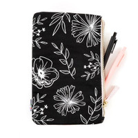 The Happy Planner - Me and My Big Ideas - Neutral Florals Classic Banded Pouch
