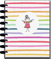 The Happy Planner - Me and My Big Ideas - 2021 Stick Girl Classic Teacher Happy Planner - 12 Months (Dated, Teacher)