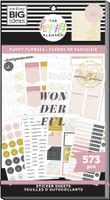 The Happy Planner - Me and My Big Ideas - Value Pack Stickers - Teacher - Fancy Florals (#573)