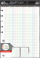 The Happy Planner - Me and My Big Ideas - Classic Filler Paper - Full Sheet - Teacher Checklist