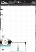 The Happy Planner - Me and My Big Ideas - Classic Filler Paper - Rock This (Dot Grid, Dot Lined)