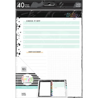 The Happy Planner - Me and My Big Ideas - Classic Filler Paper - Todays Notes