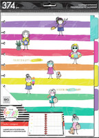 The Happy Planner - Me and My Big Ideas - Stick Girl Hooray Big Teacher Extension Pack (Undated, Teacher)