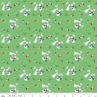 Riley Blake Fabric - Pixie Noel - Tasha Noel - Green #5252