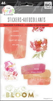 The Happy Planner - Me and My Big Ideas - Watercolor Florals - 5 Sticker Sheets