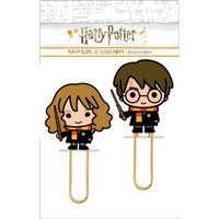 Paper House Life Organized - Puffy Clips - Set of 2 - Harry Potter - Harry & Hermoine