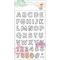 Creative Devotion - Draw Near Clear Stamps - Alphabet