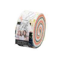 Moda Fabric Precuts Jelly Roll - Happy Days by Sherri & Chelsi