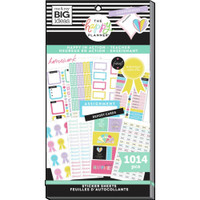 The Happy Planner - Me and My Big Ideas - Value Pack Stickers - Teacher - Happy In Action (#1014)
