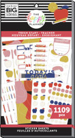 The Happy Planner - Me and My Big Ideas - Value Pack Stickers - Teacher - Fresh Start (#1109)