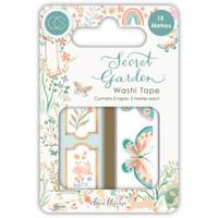 Craft Consortium - Washi Tape - Secret Garden - Set of 3