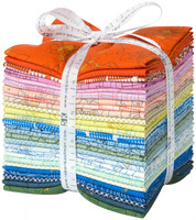 Robert Kaufman - Collection CF Colorful by Carolyn Friedlander Collection - Fat Quarter Bundle