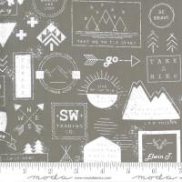 Moda Fabric - Smoke & Rust - Lella Boutique - Stone Mountain Badge #5130 14