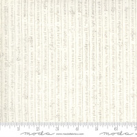 Moda Fabric - Smoke & Rust - Lella Boutique - Flax Mountain Speak Text #5131 12