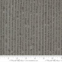 Moda Fabric - Smoke & Rust - Lella Boutique - Stone Mountain Speak Text #5131 14