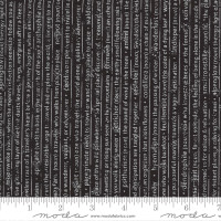Moda Fabric - Smoke & Rust - Lella Boutique - Soot Mountain Speak Text #5131 15