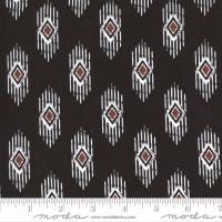 Moda Fabric - Smoke & Rust - Lella Boutique - Soot Legend #5132 15