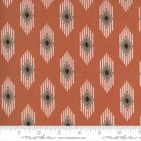 Moda Fabric - Smoke & Rust - Lella Boutique - Rust Legend #5132 16