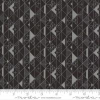 Moda Fabric - Smoke & Rust - Lella Boutique - Soot Cordillera #5133 15