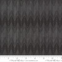 Moda Fabric - Smoke & Rust - Lella Boutique - Soot Broken Herringbone #5134 15