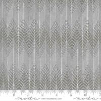 Moda Fabric - Smoke & Rust - Lella Boutique - Stone Ash Broken Herringbone #5134 24