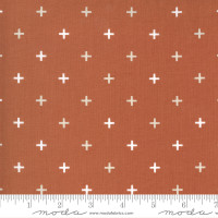 Moda Fabric - Smoke & Rust - Lella Boutique - Rust Plus #5135 16