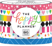 The Happy Planner - Me and My Big Ideas - Washi Tape - Brights - Set of 7
