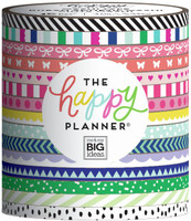The Happy Planner - Me and My Big Ideas - Washi Tape - Social Brights - Set of 15